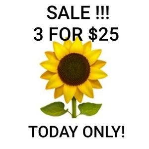 🌻3For$25🌻